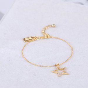 Kate Spade Hollow Star Adjustable Bracelet